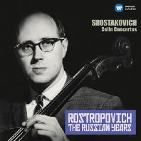 CELLO CONCERTOS: THE RUSSIAN YEARS/ MSTISLAV ROSTROPOVICH [쇼스타코비치: 첼로 협주곡 1, 2번 - 로스트로포비치, 스베틀라노프, 로제스트벤스키]