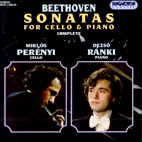 SONATAS FOR CELLO & PIANO/ MIKLOS PERENYI [베토벤: 첼로 소나타 전곡]