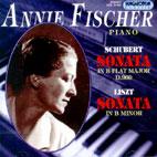 SCHUBERT, LISZT/ SONATAS/ ANNIE FISCHER