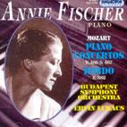 PIANO CONCERTOS K.466 & 467/ ANNIE FISCHER