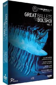 GREAT BALLETS FROM THE BOLSHOI VOL.2 [위대한 볼쇼이 발레단 2집: 라바야데르, 마르코 스파다, 백조의 호수, 골든 에이지]