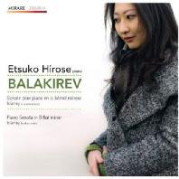 BALAKIREV PIANO SONATA IN B FLAT MINOR