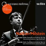 VIOLIN CONCERTOS/ NATHAN MILSTEIN [멘델스존, 드보르작: 바이올린 협주곡 - 나탄 밀스타인]