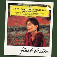 PIANO CONCERTOS NOS.1 & 2/ MARIA JOAO PIRES, ANDRE PREVIN [FIRST CHOICE]