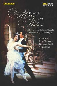THE MERRY WIDOW/ ERMANNO FLORIO, RONALD HYND [레하르: 메리 위도우(발레 버전)]