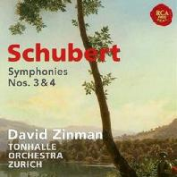 SYMPHONIES NOS.3 & 4/ DAVID ZINMAN