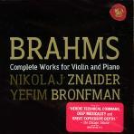 COMPLETE WORKS FOR VIOLIN AND PIANO/ NIKOLAJ ZNAIDER/ YEFIM BRONFMAN