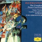THE 4 PIANO CONCERTOS/ TAMAS VASARY, YURI AHRONOVITCH