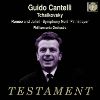 "SYMPHONY NO.6 ""PATHETIQUE"" & ROMEO AND JULIET/ GUIDO CANTELLI [차이코프스키: 교향곡 6번<비창>, 로미오와 줄리엣 - 칸텔리]"