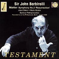 SYMPHONY NO.2 `RESURRECTION`/ JOHN BARBIROLLI [말러: 교향곡 2번 <부활>| 바비롤리]