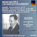 BRUNO WALTER CONDUCTS LOS ANGELES PHILHARMONIC