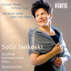 ORCHESTRAL SONGS/ SOILE ISOKOSKI