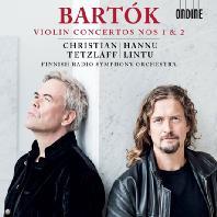 VIOLIN CONCERTOS NOS.1 & 2/ CHRISTIAN TETZLAFF, HANNU LINTU [바르톡: 바이올린 협주곡 1, 2번 - 테츨라프, 린투]