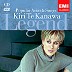 LEGEND: POPULAR ARIAS & SONGS/ KIRI TE KANAWA (CD+DVD)
