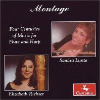 FOUR CENTURIES OF MUSIC FOR FLUTE AND HARP/ SANDRA LUNTE, ELIZABETH RICHTER