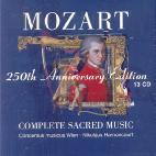 250TH ANNIVERSARY EDITION/ COMPLETE SACRED MUSIC/ NIKOLAUS HARNONCOURT
