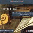 SONATAS FOR CELLO AND PIANO/ RONCO/ AMBROSINI