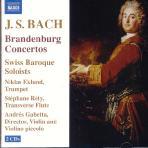 BRANDENBURG CONCERTOS/ SWISS BAROQUE SOLOISTS/ ANDRES GABETTA