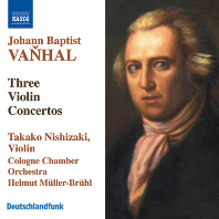 THREE VIOLIN CONCERTOS/ TAKAKO NISHIZAKI, HELMUT MULLER-BRUHL [반할: 3개의 바이올린 협주곡 - 니시자키, 브륄]