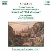 PIANO CONCERTOS NO.20 & 21/ JENO JANDO [모차르트: 피아노 협주곡]
