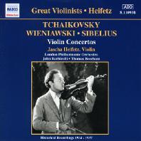 VIOLIN CONCERTOS/ JASCHA HEIFETZ [차이코프스키, 비에냐프스키, 시벨리우스: 바이올린 협주곡 - 야샤 하이페츠]