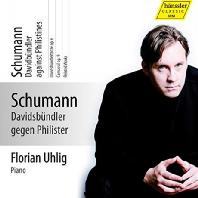 PIANO WORKS VOL.8: DAVIDSBUNDLER AGAINST PHILISTINES/ FLORIAN UHLIG [슈만 피아노 작품 8집: 플로리안 우흘리크]