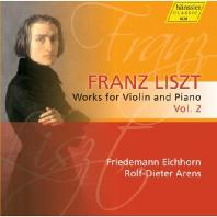 WORKS FOR VIOLIN AND PIANO VOL.2/ FRIEDEMANN EICHHORN, ROLF-DIETER ARENS