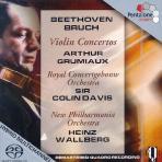 VIOLIN CONCERTOS/ ARTHUR GRUMIAUX, COLIN DAVIS [SACD HYBRID] [베토벤 & 브루흐 : 바이올린 협주곡]