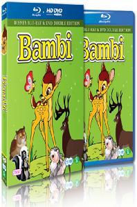 밤비 [BD+DVD] [BAMBI]