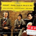 PIANO TRIOS K496,502/ PIRES/ DUMAY/ WANG