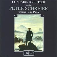 LIEDER/ PETER SCHREIER, THOMAS HANS [크로이처: 가곡집 - 페터 슈라이어]