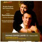 SUITE POUR DEUX PIANOS NO.1 ETC/ BRIGITTE ENGERER/ BORIS BEREZOVSKY [CD+DVD]