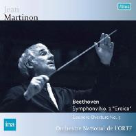SYMPHONY NO.3 'EROICA' & LEONORE OVERTURE NO.3/ JEAN MARTINON [베토벤: 교향곡 3번 '영웅' & 레오노레 서곡 3번]