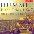 PIANO TRIOS NOS1.5.7/ THE BORODIN TRIO