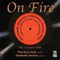 ON FIRE: THE VIRTUSO VIOLIN/ PIET KOORNHOF, BERNARDA VORSTER [비르투오조 바이올린]