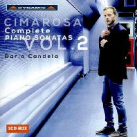 COMPLETE PIANO SONATAS VOL.2/ DARIO CANDELA [치마로사: 피아노 소나타 전곡 2집 - 다리오 칸델라]