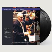 YEVGENY MRAVINSKY IN JAPAN: TCHAIKOVSKY, SCHUBERT, WEBER, SIBELIUS [180G LP] [므라빈스키 일본 라이브 에디션 1977: 차이코프스키 호두까기 인형 , 슈베르트 미완성 교향곡, 시벨리우스 교향곡 3번] [한정반]