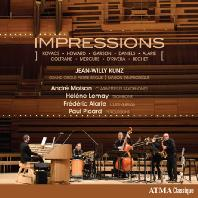 IMPRESSIONS/ ANDRE MOISAN, JEAN-WILLY KUNZ [장-윌리 쿤츠: 파이프 오르간과 재즈의 만남]