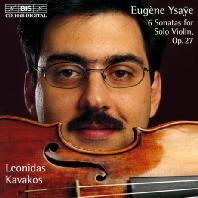 SIX SONATAS FOR SOLO VIOLIN OP.27/ LEONIDAS KAVAKOS [이자이: 6개의 무반주 바이올린 소나타 - 레오니다스 카바코스]