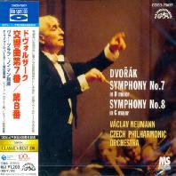 SYMPHONY NO.7 & 8/ VACLAV NEUMANN [BLU-SPEC CD]