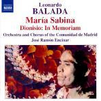 MARIA SABINA, DIONISIO: IN MEMORIAM/ JOSE RAMON ENCINAR