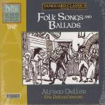 FOLK SONGS AND BALLADS/ THE DELLER CONSORT