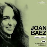DEBUT ALBUM: JOAN BAEZ,VOL.2 & IN CONCERT
