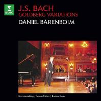 GOLDBERG VARIATIONS/ DANIEL BARENBOIM [ORIGINAL JACKET] [바흐: 골드베르크 변주곡 (1989년 실황)]