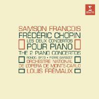 PIANO CONCERTOS 1 & 2/ SAMSON FRANCOIS, LOUIS FREMAUX [ORIGINAL JACKET] [상송 프랑소와: 쇼팽 피아노 협주곡 1, 2번]