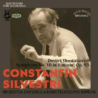 SYMPHONY NO.10/ CONSTANTIN SILVESTRI [쇼스타코비치: 교향곡 10번 - 실베스트리]
