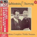 THE COMPLETE VIOLIN SONATAS/ HENRYK SZERYNG & ARTHUR RUBINSTEIN [일본반]