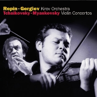 VIOLIN CONCERTOS/ VADIM REPIN, VALERY GERGIEV [차이코프스키 & 미야스코프스키: 바이올린 협주곡 - 레핀, 게르기에프]