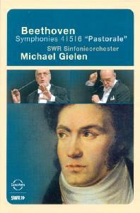 SYMPHONIES NOS.4,5,6 `PASTORALE/ MICHAEL GIELEN [베토벤: 교향곡 4,5,6번]