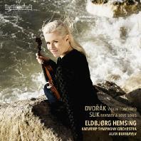VIOLIN CONCERTO & FANTASY AND LOVE SONG/ ELDBJORG HEMSING, ALAN BURIBAYEV [SACD HYBRID] [드보르작: 바이올린 협주곡 & 수크: 환상곡, 사랑의 노래 - 엘드뵤르그 헴싱]